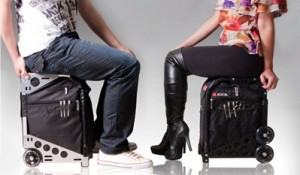luggage you can sit on