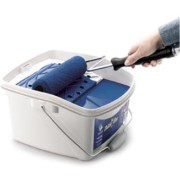 Paint Can With Built-In Roller Tray