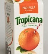 Tropicana Screw-Top 1/2 Gallon Juice Container
